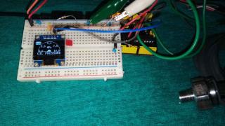 自作油圧計